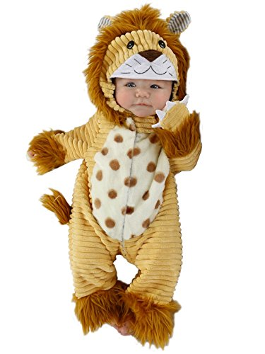 Princess Paradise Baby Boys' Safari Lion Deluxe Costume, As Shown, 0/3M]()
