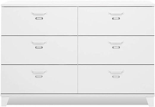 Inter Trade Corporation Chest Of Drawers 120 X 80 X 40 Cm Matt White Wood Effect 120 X 40 X 80 Cm Amazon Co Uk Kitchen Home