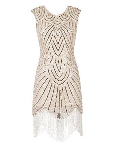 Emust Sequined Embellishment Fringed Flapper product image