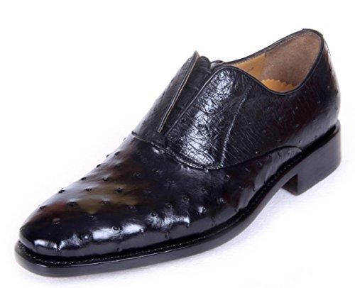 NBWE Chaussures de Luxe Haut de Gamme en Cuir pour Hommes Goodyear Chaussures de Banquet Confortables à la Main Black