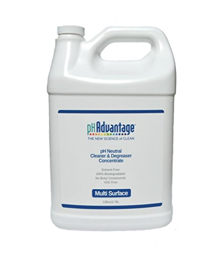 pHAdvantage MultiSurface Cleaner/Degreaser– pH Neutral - Solvent Free – No VOC'S – Non Toxic – Non Corrosive – 100% Biodegradable - Concentrated (Non Solvent)