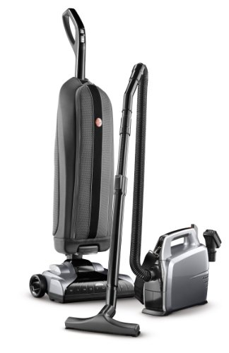 Hoover Platinum Collection Bagged Corded Upright Vacuum with Canister Vacuum Cleaner UH3001COM
