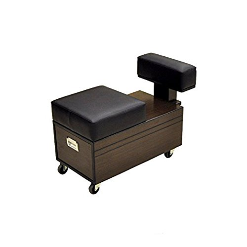 Pedicure Cart with Footrest BERKELEY Pedi Trolley Nail Salon Furniture & Equipment by Madison Park