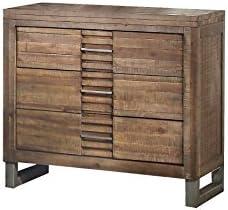 ACME Furniture 21293 Andria Nightstand, Reclaimed Oak