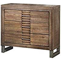 ACME Furniture 21293 Andria Nightstand, Reclaimed Oak