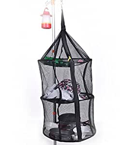 3 layer camping drying rack hang dry net. Black Bedroom Furniture Sets. Home Design Ideas