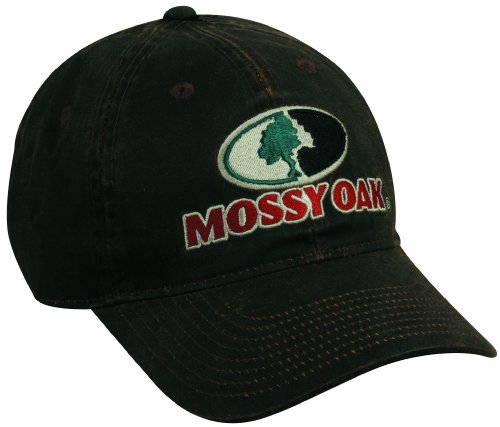 Mossy Oak Dark Brown Weathered Cotton Cap
