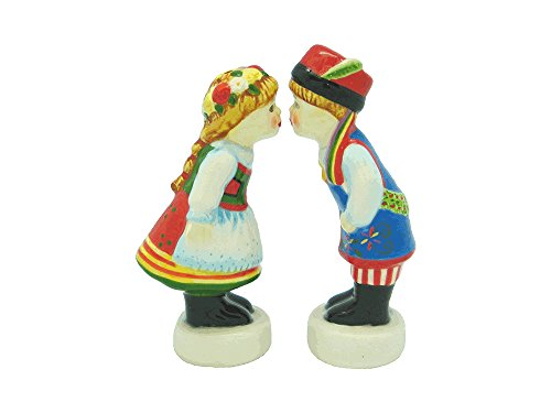 Essence of Europe Gifts Polish Ceramic Salt and Pepper - Gift Polish Set
