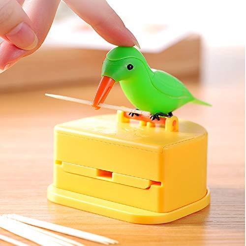 Bird Toothpick Holder Dispenser, Automatic Toothpick Bottle (Toothpick Bird Dispenser)