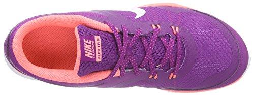 Nike Frauen Flex Trainer 5 Schuh Fett Berry / Weiß / Lava Glow