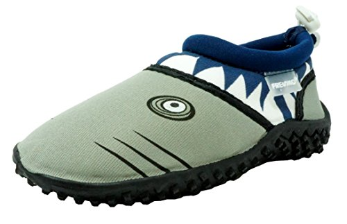 Shoes for Boys, Shark T1028, Navy, 8 M US Toddler ()