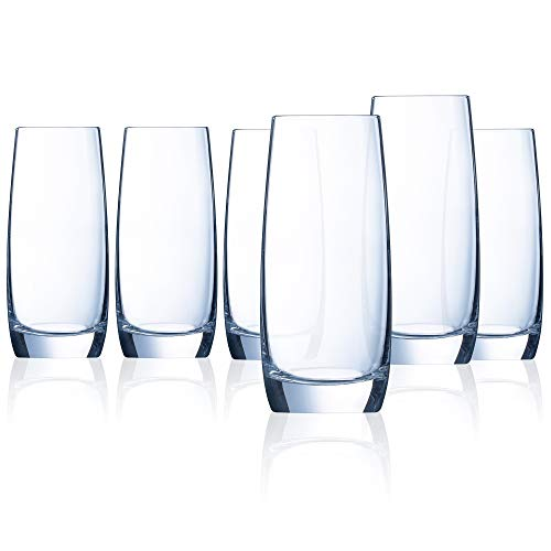 Chef&Sommelier L9238 Chef & Sommelier Domaine 16 Ounce Cooler Glass, Set of 6 16 oz Clear ()
