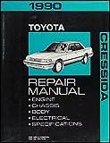 1990 Toyota Cressida Repair Shop Manual Original