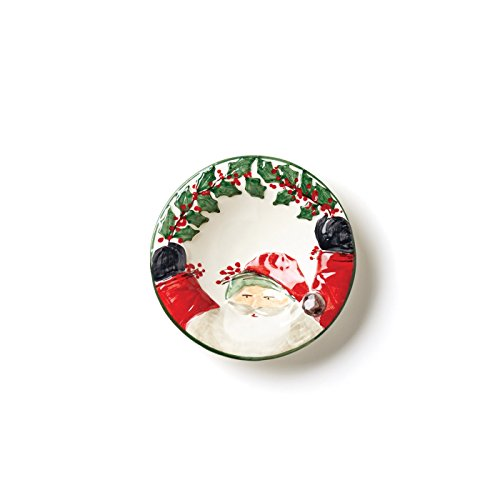 Vietri Old St. Nick Santa Candy Dish