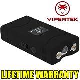 VIPERTEK Mini Stun Gun VTS-880 60 Million Volt Rechargeable LED Flashlight