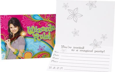 Wizards Of Waverly Place Invitations w/ Env. (8ct)]()