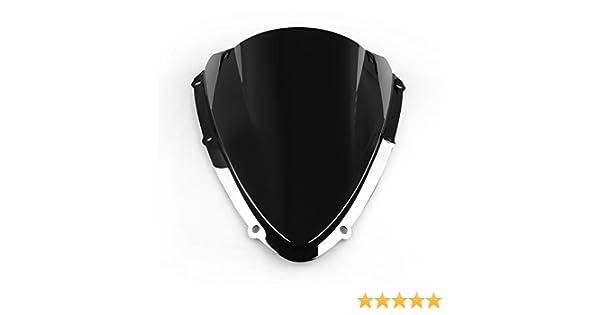 Artudatech Parabrisas de motocicleta de doble burbuja para S U Z U K I GSXR 600//750 2008-2010 K8