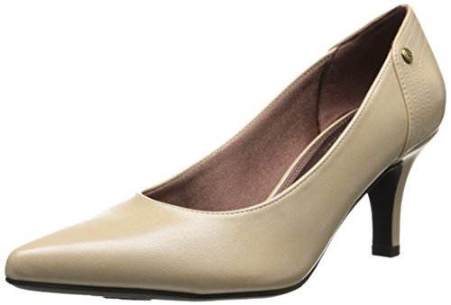 LifeStride Women's Star Dress Pump, Nude, 9.5 W US