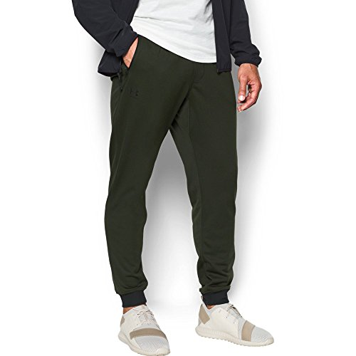 Under Armour Men's Sportstyle Jogger Pants, Artillery Green/Black, Large by Under Armour