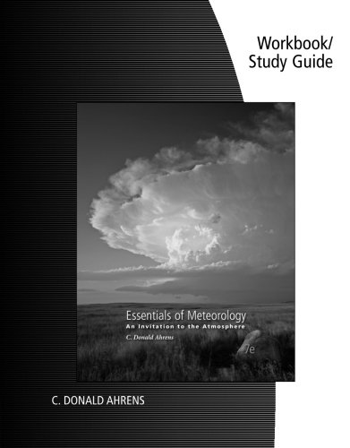 Buy ahrens essentials of meteorology