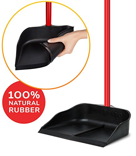 tyroler gummi kehrschaufel mit langem stiel 90cm alleine stehend aus ebay. Black Bedroom Furniture Sets. Home Design Ideas
