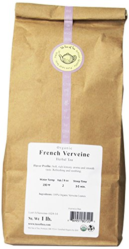 (The Tao of Tea French Verveine, 100% Organic Herbal Tea, 1-Pounds)
