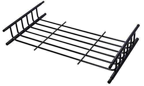 Roof Rack Cargo Carrier - Universal Roof-Top Luggage Basket - Travel Bag Holder System (Extension) (Roof Top Basket Carrier)