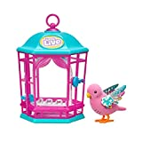 Little Live Pets Bird with Cage - Rainbow Glow