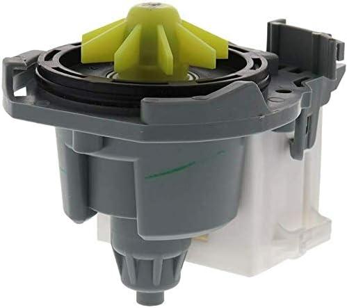 WPW10348269VP By OEM Manufactuer- 1 yr WARRANTY 661662 Primeco W10348269 Washer Drain Pump Compatible For Whirlpool WPW10348269 W10158351 W10084573 8558995 AP6020066 W10348269
