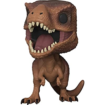 Funko Pop! Movies: Jurassic Park - Tyrannosaurus Rex Vinyl Figure (Bundled with Pop Box Protector Case): Toys & Games