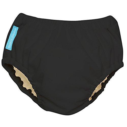 Training Pants Waterproof (Charlie Banana Extraordinary Training Pants, Black, Large)