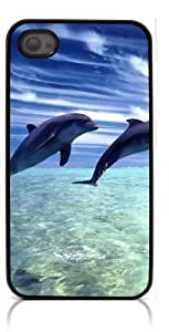 diy phone caseHeartCase Hard Case for Iphone 4 4G 4S (Dolphins )diy phone case