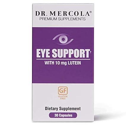 Los suplementos de alta calidad, soporte de los ojos, con Luteína, 30 Cápsulas