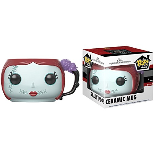 Sally: Funko POP! Home x The Nightmare Before Christmas Mug + 1 Classic Disney Trading Card Bundle -
