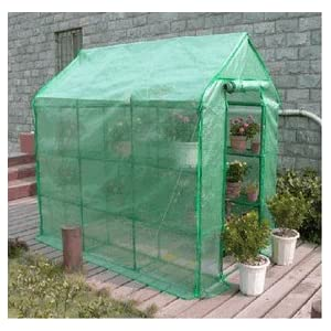 5x7 Portable Greenhouse with Shelves