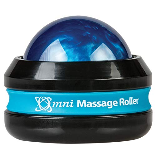 Core Products Omni Massage Roller Black Cap - Blue