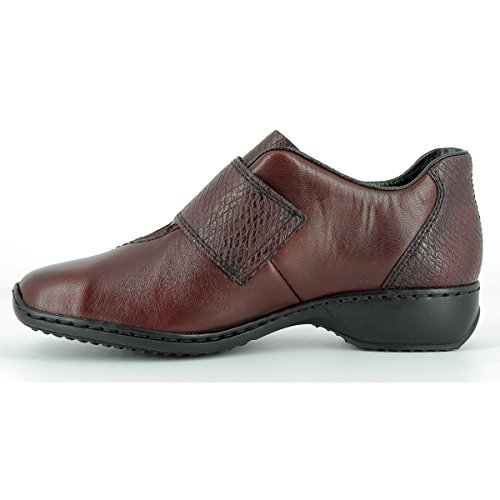 Rieker Women's Shoe L3856-35 Red Red dduFT