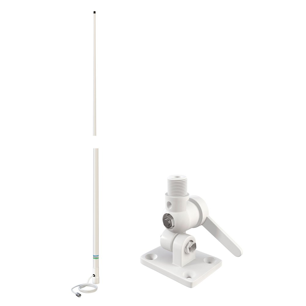 Shakespeare Classic 8' VHF Antenna w/4186-U Ratchet Mount Included