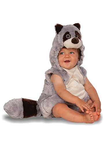 Raccoon Halloween Costumes (Rubie's Costume Co. Baby Raccoon Costume, As Shown, Toddler)