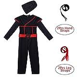 Best  - iiniim Kids Boys Stealth Ninja Costume Jumpsuit Children Review