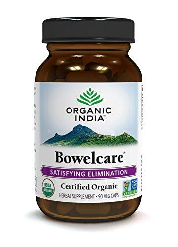 ORGANIC INDIA Bowelcare Supplement, 90 Veg Caps