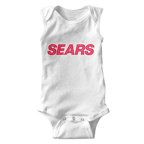 Price comparison product image ORYSJDGTS Kids Sleeveless Sears-Logo-Design- Summer Onesie for Cute Unisex Baby