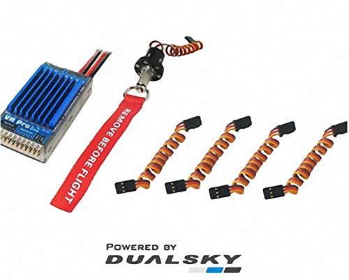 DUALSKY VR Pro High Current Linear Voltage Regulator Stabilizer Suitable for 50CC Gasoline Engine Airplane