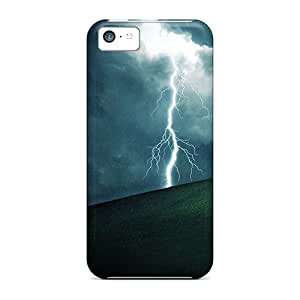 New Style Ajephke Galaxy Lightning Hd Premium Tpu Cover Case For Iphone 5c