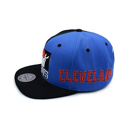 Ness para de azul Gorra negro hombre amp; Negro béisbol única Mitchell Talla 5qfwnOtXt