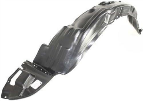 Driver Side Fender Splash Shield For Toyota Corolla 2003-2008 New Front