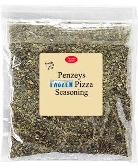 Frozen Pizza Seasoning By Penzeys Spices 1.8 oz 1 cup bag