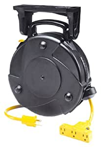 Alert Stamping 8050MP 50-Foot Cord Reel with Circuit Breaker