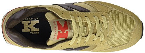 Marron Beige Basses Kelme Mixte Beige Charles Adulte Baskets ZwqxRxz06