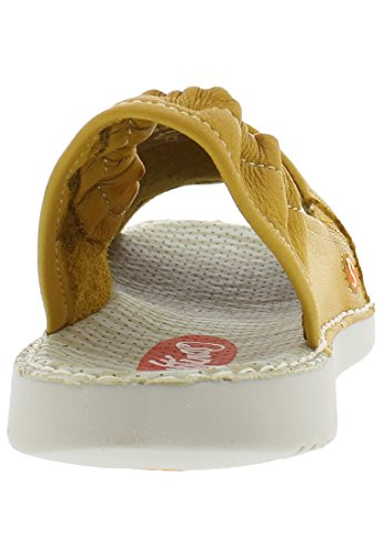 Softinos Damen Tee430sof Lavato Slingback Sandalen Lavato / Giallo